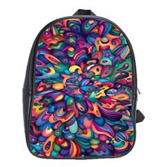 Moreau Rainbow Paint School Bags (xl)  by Mariart