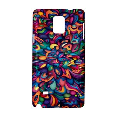 Moreau Rainbow Paint Samsung Galaxy Note 4 Hardshell Case by Mariart