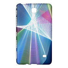 Light Means Net Pink Rainbow Waves Wave Chevron Green Blue Sky Samsung Galaxy Tab 4 (8 ) Hardshell Case  by Mariart