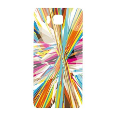 Illustration Material Collection Line Rainbow Polkadot Polka Samsung Galaxy Alpha Hardshell Back Case by Mariart