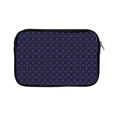 Purple Floral Seamless Pattern Flower Circle Star Apple Ipad Mini Zipper Cases by Mariart