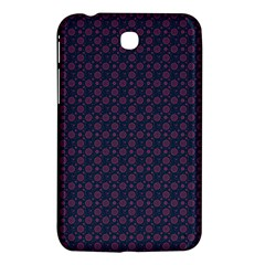 Purple Floral Seamless Pattern Flower Circle Star Samsung Galaxy Tab 3 (7 ) P3200 Hardshell Case  by Mariart