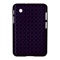 Purple Floral Seamless Pattern Flower Circle Star Samsung Galaxy Tab 2 (7 ) P3100 Hardshell Case  by Mariart