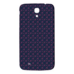 Purple Floral Seamless Pattern Flower Circle Star Samsung Galaxy Mega I9200 Hardshell Back Case by Mariart