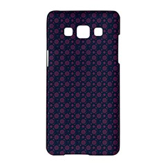 Purple Floral Seamless Pattern Flower Circle Star Samsung Galaxy A5 Hardshell Case  by Mariart