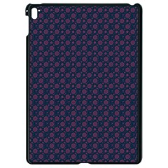 Purple Floral Seamless Pattern Flower Circle Star Apple Ipad Pro 9 7   Black Seamless Case by Mariart