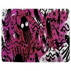 Octopus Colorful Cartoon Octopuses Pattern Black Pink Jigsaw Puzzle Photo Stand (rectangular) by Mariart