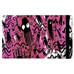 Octopus Colorful Cartoon Octopuses Pattern Black Pink Apple Ipad Pro 12 9   Flip Case by Mariart