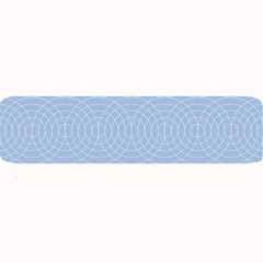 Seamless Lines Concentric Circles Trendy Color Heavenly Light Airy Blue Large Bar Mats by Mariart