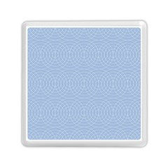 Seamless Lines Concentric Circles Trendy Color Heavenly Light Airy Blue Memory Card Reader (square)  by Mariart