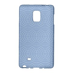 Seamless Lines Concentric Circles Trendy Color Heavenly Light Airy Blue Galaxy Note Edge by Mariart