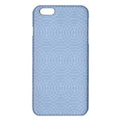 Seamless Lines Concentric Circles Trendy Color Heavenly Light Airy Blue Iphone 6 Plus/6s Plus Tpu Case by Mariart
