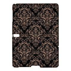 Damask1 Black Marble & Brown Colored Pencil Samsung Galaxy Tab S (10 5 ) Hardshell Case  by trendistuff
