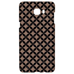Circles3 Black Marble & Brown Colored Pencil (r) Samsung C9 Pro Hardshell Case  by trendistuff