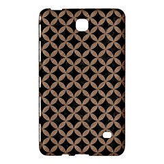 Circles3 Black Marble & Brown Colored Pencil Samsung Galaxy Tab 4 (8 ) Hardshell Case  by trendistuff