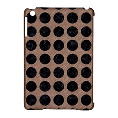 Circles1 Black Marble & Brown Colored Pencil (r) Apple Ipad Mini Hardshell Case (compatible With Smart Cover) by trendistuff
