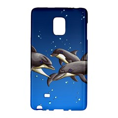 Dolphins Galaxy Note Edge by retz