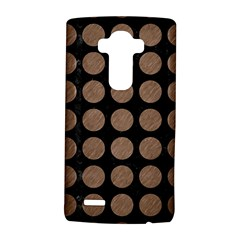 Circles1 Black Marble & Brown Colored Pencil Lg G4 Hardshell Case by trendistuff