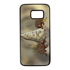Echidnas Samsung Galaxy S7 Black Seamless Case by retz