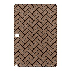 Brick2 Black Marble & Brown Colored Pencil (r) Samsung Galaxy Tab Pro 10 1 Hardshell Case by trendistuff