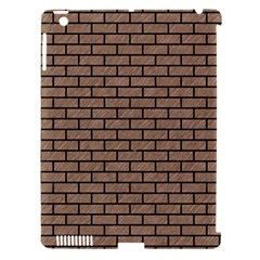 Brick1 Black Marble & Brown Colored Pencil (r) Apple Ipad 3/4 Hardshell Case (compatible With Smart Cover) by trendistuff