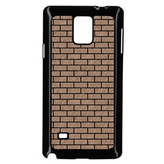 Brick1 Black Marble & Brown Colored Pencil (r) Samsung Galaxy Note 4 Case (black) by trendistuff