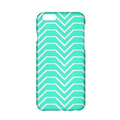 Seamless Pattern Of Curved Lines Create The Effect Of Depth The Optical Illusion Of White Wave Apple Iphone 6/6s Hardshell Case by Mariart