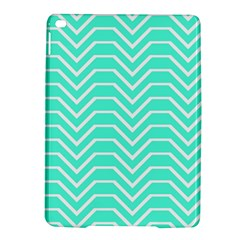 Seamless Pattern Of Curved Lines Create The Effect Of Depth The Optical Illusion Of White Wave Ipad Air 2 Hardshell Cases by Mariart