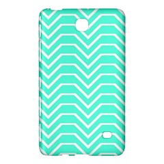 Seamless Pattern Of Curved Lines Create The Effect Of Depth The Optical Illusion Of White Wave Samsung Galaxy Tab 4 (8 ) Hardshell Case  by Mariart