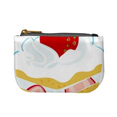 Seeds Strawberry Bread Fruite Red Mini Coin Purses by Mariart