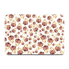 Pine Cones Pattern Plate Mats by Mariart