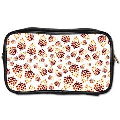 Pine Cones Pattern Toiletries Bags 2 Side by Mariart