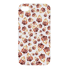 Pine Cones Pattern Apple Iphone 4/4s Hardshell Case by Mariart