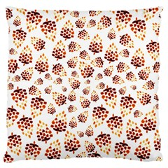 Pine Cones Pattern Large Cushion Case (one Side) by Mariart