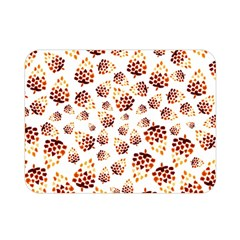 Pine Cones Pattern Double Sided Flano Blanket (mini)  by Mariart
