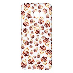 Pine Cones Pattern Samsung Galaxy S8 Plus Hardshell Case  by Mariart