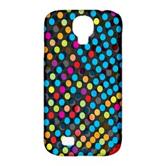 Polkadot Rainbow Colorful Polka Circle Line Light Samsung Galaxy S4 Classic Hardshell Case (pc+silicone) by Mariart