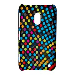 Polkadot Rainbow Colorful Polka Circle Line Light Nokia Lumia 620 by Mariart