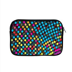 Polkadot Rainbow Colorful Polka Circle Line Light Apple Macbook Pro 15  Zipper Case by Mariart