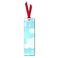 Stellar Cloud Blue Sky Star Small Book Marks by Mariart