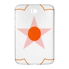 Test Flower Star Circle Orange Samsung Galaxy Note 8 0 N5100 Hardshell Case  by Mariart