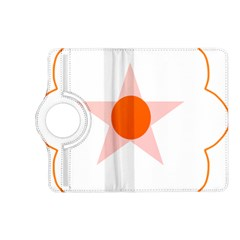 Test Flower Star Circle Orange Kindle Fire Hd (2013) Flip 360 Case by Mariart