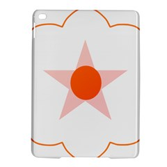 Test Flower Star Circle Orange Ipad Air 2 Hardshell Cases by Mariart