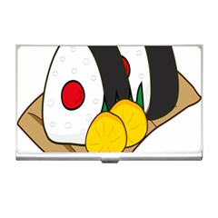 Sushi Food Japans Business Card Holders by Mariart