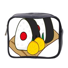 Sushi Food Japans Mini Toiletries Bag 2 Side by Mariart