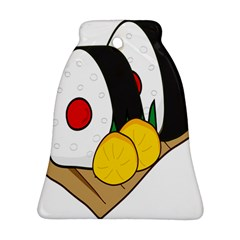 Sushi Food Japans Ornament (bell) by Mariart
