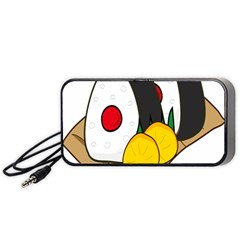 Sushi Food Japans Portable Speaker (black) by Mariart