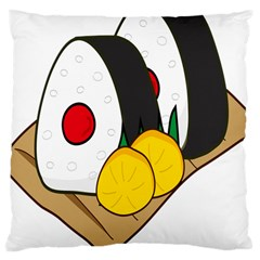 Sushi Food Japans Large Cushion Case (two Sides) by Mariart