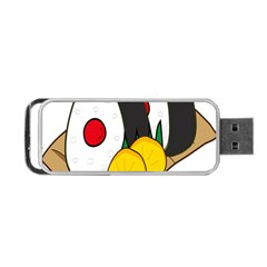 Sushi Food Japans Portable Usb Flash (two Sides) by Mariart