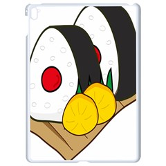 Sushi Food Japans Apple Ipad Pro 9 7   White Seamless Case by Mariart